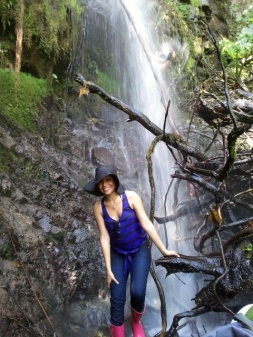 Hiking to the Waterfalls (Costa Rica)