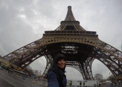GoPro Selfie, guess where? (Paris, France)