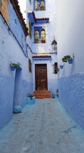 The Blue Town in the Rif Mountains (Chefchaouen, Morocco)