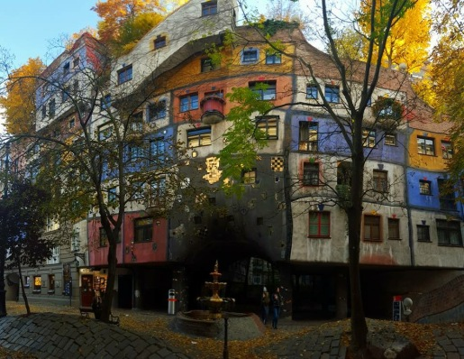 The Hundertwasserhaus (Vienna, Austria)