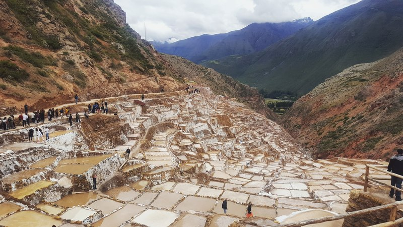 Maras Salt mine peru travel blog 2019