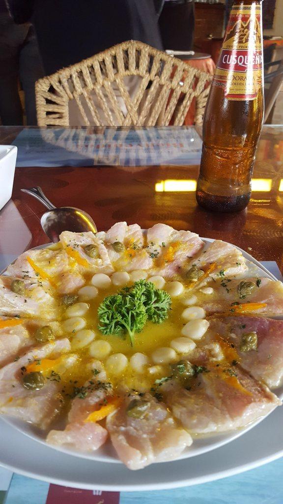 Perivian food in Lima 1
