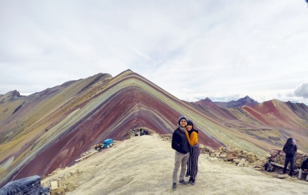 Rainbow mountain travel blog