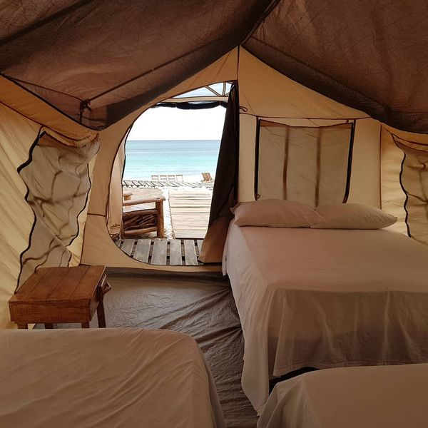 glamping in the Dominican republic