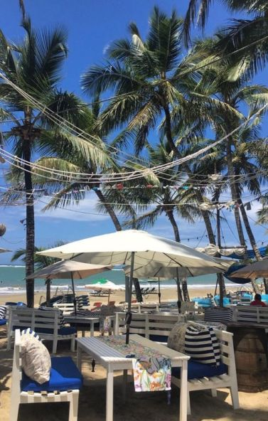Seaside restaurant in Cabarete