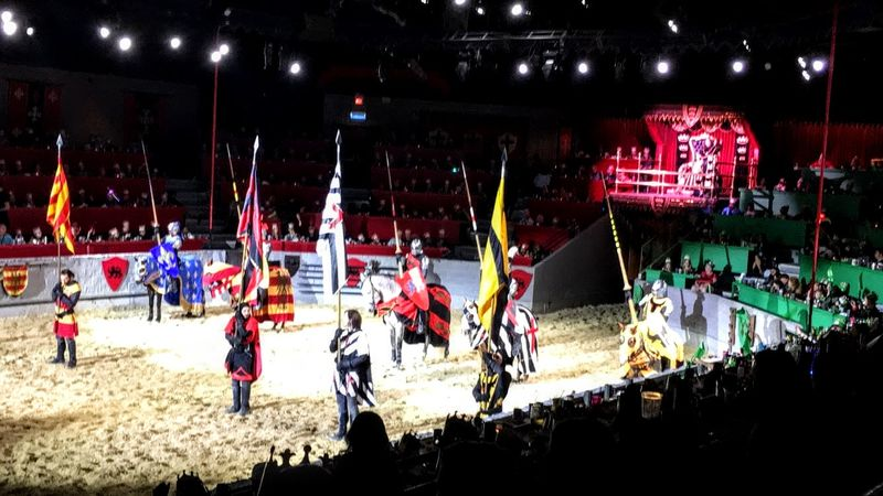 Medieval Times in Dallas, Texas, USA