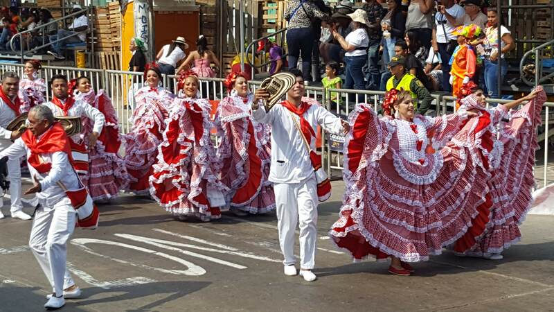 6 hour parade in Barranquilla Carnaval