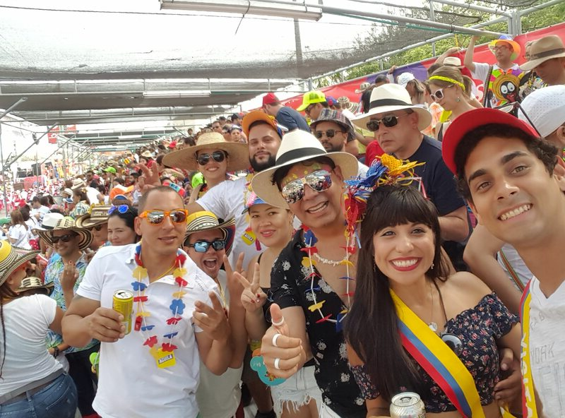Celebrating in Barranquilla Carnaval