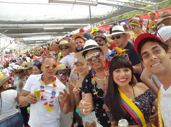 Celebrating in Barranquilla Carnaval