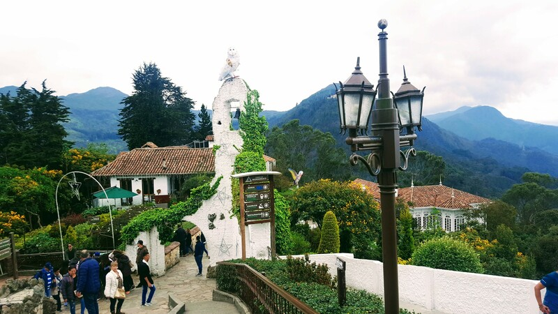 On top of Monserrate - a beautiful walk among the mountains