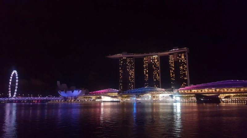 Marina Bay Sands Bay in Singapore