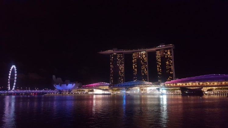 Marina Bay Sands Bay in Singapore