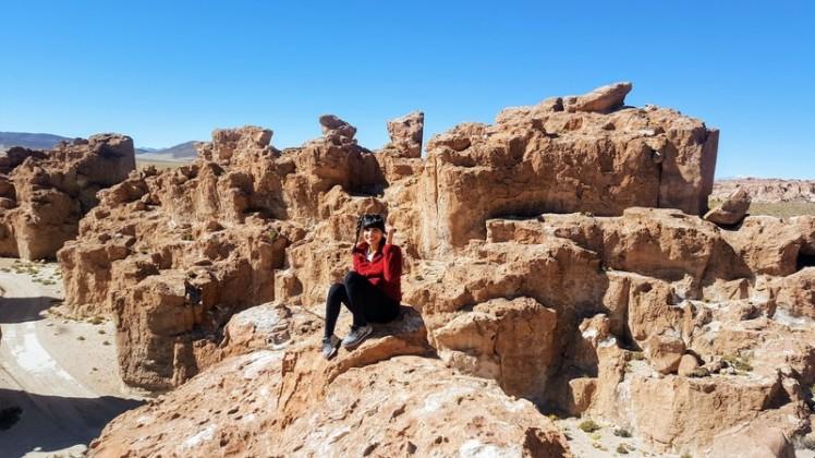 Ciudad de Piedra Bolivia travel blog
