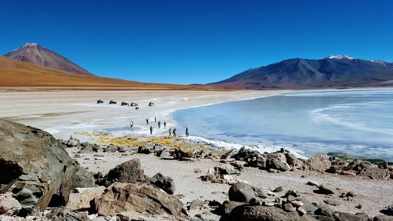 Laguna Azul Bolivia 2019